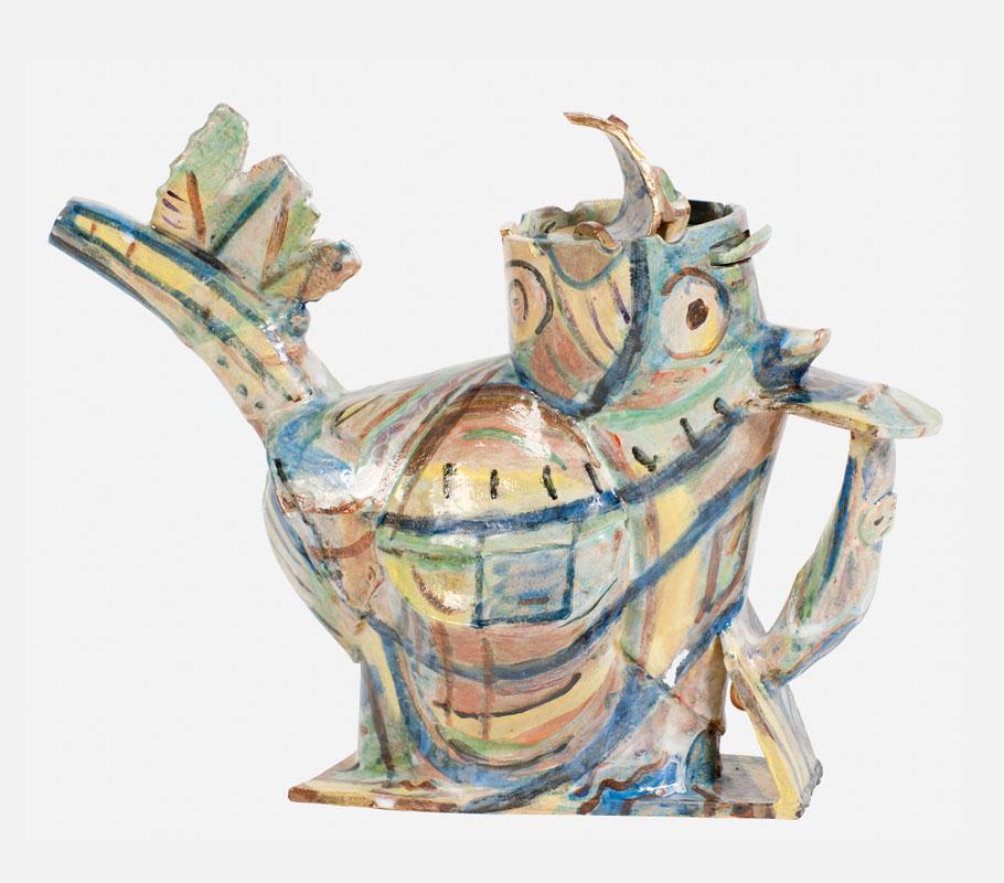 Budgie Teapot Angus Suttie Crafts Council 40 40