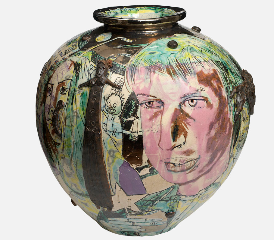 Mad Kids Bedroom Wall Pot Grayson Perry Crafts Council 4040